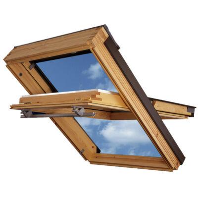 VELUX GZL 1059B alsó kilincses fa tetőtéri ablak - Tető-ablak.hu