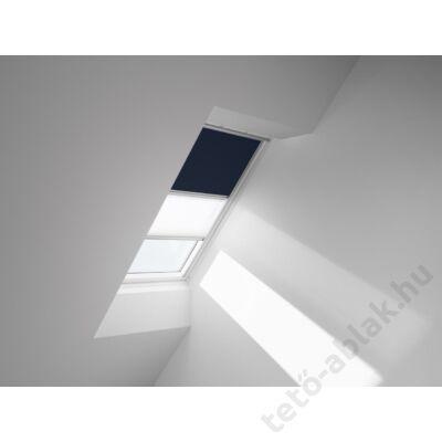 VELUX DFD Duo fényzáró roló 134x140cm UK08 1100 Sötétkék-Fehér