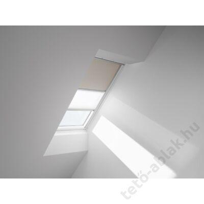 VELUX DFD Duo fényzáró roló 55x78cm CK02 4556 Bézs-Fehér