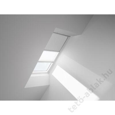 VELUX DFD Duo fényzáró roló 134x140cm UK08 4558 Esszenciális mintázat-Fehér