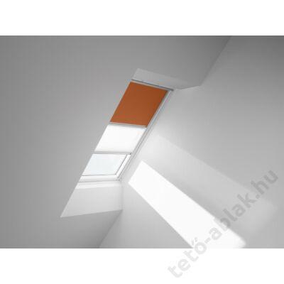 VELUX DFD Duo fényzáró roló 78x160cm MK10 4564 Narancs-Fehér